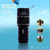 Monocular Telescope 16x52 Dual Focus Telescopio Green Film Binoculo Optical Prism Hunting High Quality Tourism Scope Binoculars