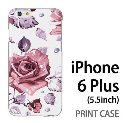 iPhone6 Plus (5.5インチ) 用『0618 昼のピンクバラ』特殊印刷ケース【 iphone6 plus iphone アイフォン アイフォン6 プラス au docomo softbank Apple ケース プリント カバー スマホケース スマホカバー 】の画像