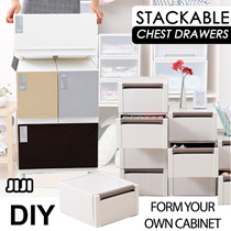 ★Chest Drawers ★Stackable ★PP ★Storage Closet Organizer ★Container ★Home Organization ★DIY