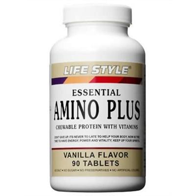 ライフスタイル(LIFE STYLE) アミノプラス ビタミン&カルシウム 90粒 【健康サプリメント】の画像