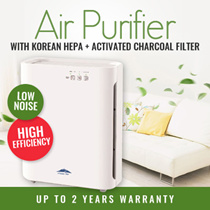 Clean Air AP-777 Air Purifier True HEPA filter Activated Carbon filter Washable Pre-Filter Ultraviolet Germicidal Light and Negative Ion Plasma etc SG Stock SG Warranty