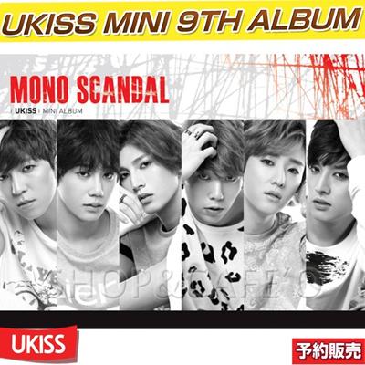【1次予約】[UKISSマスクシート1枚進呈]UKISS MINI 9th Album / MONO SCANDALの画像