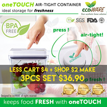 [SHOP + CART DISCOUNT!! | ecoWARE Airtight Container | BPA free | Milk | Powder |