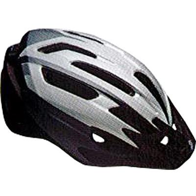 ベル(BELL) ヘルメット CHICANE / シケイン ACTIVE シルバー/チタニウムフィルター UA/54-61cm 【自転車 サイクル レース 安全 二輪】の画像