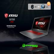 MSI GV72VR 7RF-857SG (I7-7700HQ / 8GB DDR4 / 128GB SSD+1TB HDD 7200RPM / GeForce® GTX 1060 6GB GDDR5