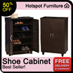 SALE !!! SALE !!! SALE !!! UP TO 50%  !!! HURRY N GET THE CHEAPEST SHOE CABINET IN TOWN !!! STOCK AVAILABLE AGAIN!! FREE    DELIVERY + INSTALLATION!!!!HURRY!!!