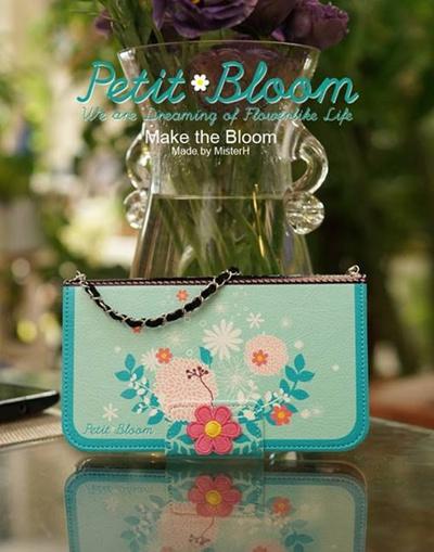 【iPhone/GALAXY/Galaxy Note/LG G2ケース】Mr.H The Petit Bloom Diary (プチブルーム ダイアリー)オリジナル ハンドメイド【レビューを書いてネコポス送料無料】の画像