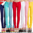 2015 new Candy Colors Series Candy Colors Pencil Pants ☆