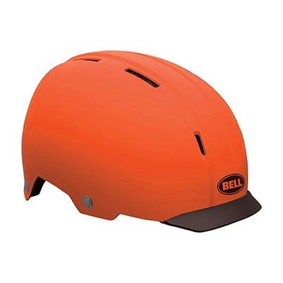 ベル(BELL) INTERSECT/インターセクト ヘルメット 自転車 サイクリング URBAN アーバン マットオレンジ M 55-59 7046564 【ロード クロス サイクル バイク 通勤】の画像