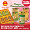 ★Super Concentrated★ Premium Concentrated Silver Bird Nest (Less Sugar)/(Sugar Free)!!100% Natural Birdnest!!