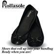 ★2014 New Design★2nd Generation★New Arrivals★Emergency Roll Shoes / flats to go / on the go★ Rollable