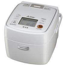 三菱電機 IHジャー炊飯器 備長炭 炭炊釜 3.5合炊き ピュアホワイト NJ-SE066-W