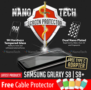 Nanotech Tempered Glass Screen Protector/iPhone 7/7 Plus/6/5/Samsung Galaxy S8/S8 +/S7edge/Redmi