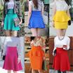 ★★Only Today Super Sale 35.9$→15.9$!!★★ Fast Shipping/ Hepburn Midilong Skirt/ Plus Size Skirt/ Flare Midilong Skirt/ A-Line Skirt/ Banding Skirt
