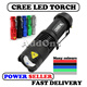 Touch Light American Extreme Brightness CREE LED Torch XML Q5 Torchlight Flashlight Outdoor Portable lights