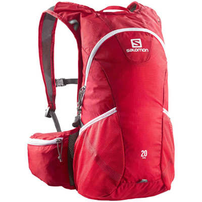 サロモン(SALOMON) トレイル(TRAIL) 20 BRIGHT RED L37169200 【アウトドア スポーツ 鞄 バックパック バッグ】の画像