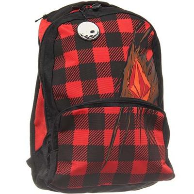◆即納◆ボルコム(VOLCOM) Creature Backpack ジュニアバックパック BRN F6531405 【バッグ リュック リュックサック スケート スノーボード】の画像