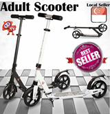 [2015 HOTTEST MUST HAVE] 100% Authentic Adjustable Adult Scooter* Best Price* LOCAL SELLER* Fashionable Stylish and Trendy* Easy to Carry* SALE* Available in Grey or White*