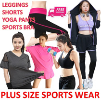 PLUS SIZE SPORTS WEAR♥PREMIUM YOGA PANTS♥GYM BRA♥SHORTS THIGHS ♥TOP♥TUBE♥XXL-XXXXL♥FAST DELIVERY
