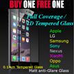 ❤LOWEST❤ FULL COVERAGE 9H Tempered glass Premium iPhone 6 iPhone 6 Plus Samsung Note 4 Samsung Note 5 A3 A5 A7 A8 Red Mi Note Xiao mi Note Xiao Mi 4i OPPO R7 ASUS ZenFone Nexus 6p 5x LG