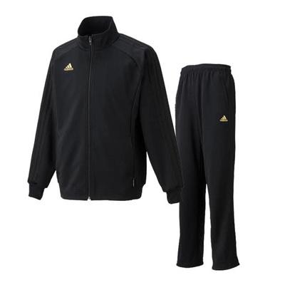 アディダス (adidas) ESS 3S ウォームアップジャケット&パンツ上下セット(ブラック×ブラック) DDU45-AH3828-DDT93-AH3829 [分類:ジャージ 上下セット (メンズ・ユニセックス)] 送料無料の画像