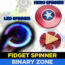 ✪[Fidget Spinners!]✪ Heroes    LED    Camo    Many Varieties!    Let it Spin and Relieve Stress Now!