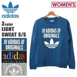 アディダス オリジナルス adidas originals ライト スウェット シャツ レディース