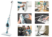 【Official E-Store】10-in-1 Steam Mop Steam Cleaner FSMH1621R F R E E S H I P P I N G (1-Yr Warranty)