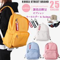 【BUBILIAN]韓国ストリートブランド/韓国と日本のベストセラーバックパック/ベーシックバックパック/トラベルバッグ/学生バッグ/都市トレンディリュック/男女兼用バックパック/低価格/ 25色 / バッグ / バックパック