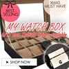 Luxury Watch Case-Modern Design-Convenient Watch Storage Box / 10 Slot Luxury Watch case/ Jewelry