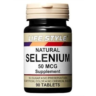 ライフスタイル(LIFE STYLE) セレニウム50mcg 90粒 【健康サプリメント】の画像