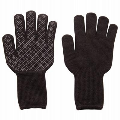 寒さに打ち勝つ手袋ブラック