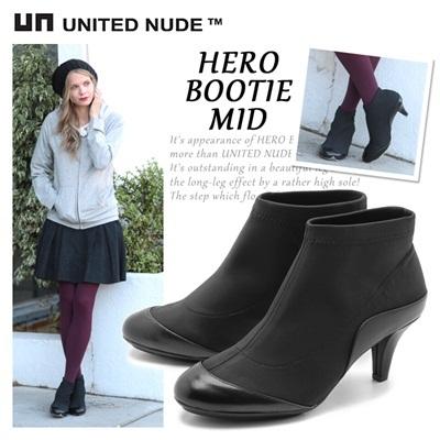 ユナイテッドヌード UNITED NUDE ヒーロー ブーティ ミッド 天然皮革 本革 レディース 靴の画像