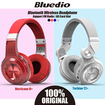 Bluedio Hurricane H+ / Turbine T2+ T3+ Bluetooth Wireless Headphone Headset Earpiece Speaker Radio