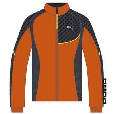 プーマ(PUMA) メンズ トレーニングジャケット マイアミレッド 902457 08 【トレーニングウェア ジャージ プージャー】の画像