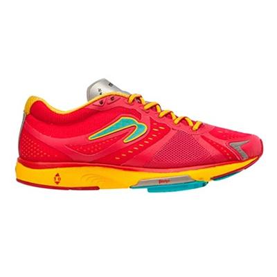 ニュートン(NEWTON) レディース ランニングシューズ モーション IV(Motion lV) W000415 Cranberry/Yellow 【トライアスロン レースシューズ トレーニング ランニング】の画像