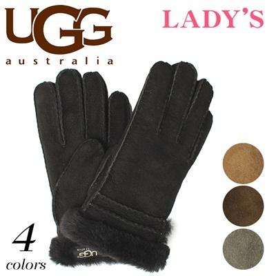 アグ オーストラリア ブロント グローブ シープスキン UGG U1720 手袋 レディースの画像