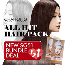 ❤FREE* 4 PIECES❤MIRACLE ALL HIT HAIR PACK▄ RESULTS GUARANTEED !!! CHA HONG/ANTI-HAIR LOSS/VOLUME- UP/HYDRATES/STRENGTHEN and PROTECT SCALP/SOFT SILKY BOUNCY HAIR
