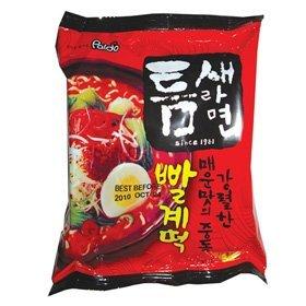【韓国食品・韓国ラーメン】今までのラーメンの中で! 一番辛い!!辛いに挑戦する方におすすめ!!■韓国のトムセラーメン(辛さ7)■の画像
