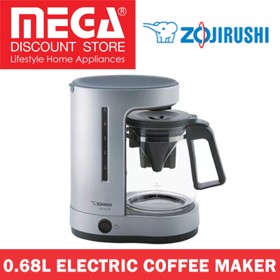 Qoo10 - ZOJIRUSHI EC-DAQ50 0.68L ELECTRIC COFFEE MAKER / LOCAL WARRANTY : Home Electronics