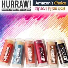 ✨HURRAW! Lip Balm✨ AMAZON #1 CHOICE!  🌟 ORGANIC 🌟 NON-GREASY 🌟 All NATURAL 🌟 Direct from USA
