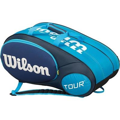 ウイルソン(Wilson) ジュニア ミニツアー6パック ブルー WRZ641506 【テニス用品 バッグ ジュニアラケットバッグ 遠征バッグ ウィルソン】の画像