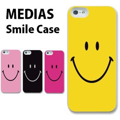 特殊印刷/MEDIAS X(N-04E)U(N-02E)(スマイリー)CCC-015【スマホケース/ハードケース/カバー/medias x/u/メディアス ユー/n04en02e】の画像