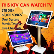**READY STOCK**[2017 KTV KING]3TB 60000 SONGS PRELOADED. Karaoke+Android TV= Duel System!