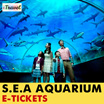 【iTravel eTicket】S.E.A Aquarium  Tickets for Adults / Children 海洋馆