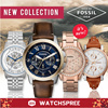 *FOSSIL GENUINE* Men and Ladies Watches! AM JR FS ES CH ME Leather and Stainless Steel Watches. Free Shipping and 1 Year Warranty! Box Included! *NEW MODELS*