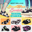 [Limited 100 Qty] Korea Best Selling Unisex Sandals/ anti slip/ slipper/ Teva/ beach wear/