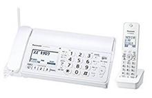 パナソニック デジタルコードレスFAX 子機1台付き 迷惑電話対策機能搭載 ホワイト KX-PD205DL-W【ラッピング不可】【MC】
