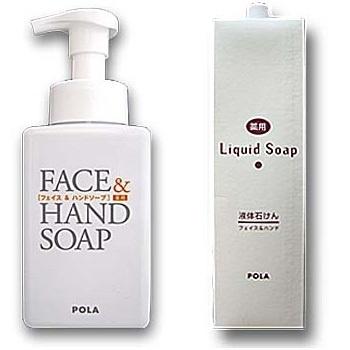 POLA 【医薬部外品】 洗顔フォーム/ハンドソープ 泡/ 薬用リキッドソープ2Lの画像