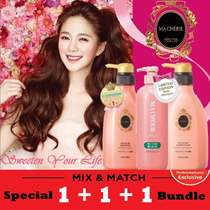 [$2 REBATE!] EXCLUSIVE PROMO NOW!! TheBeautyQueen x Ma cherie OFFER!!  🌟 1 + 1 + 1 🌟 3x 500ml [Mix and Match] Ma Cherie [Shiseido] Award Winning Hair care Ma Cherie M